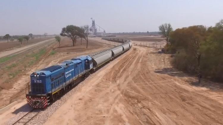 Belgrano Cargas triplico las toneladas transportadas