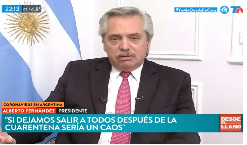 Alberto Fernández: Está en análisis que actividades vamos a flexibilizar