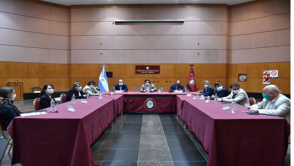 El Gobierno ratificó el acompañamiento a los sectores económicos que están sin actividad