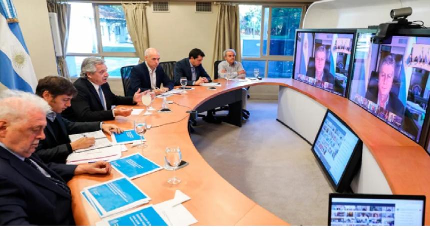 El Presidente y gobernadores consensuaron nueva prorroga cuarentena