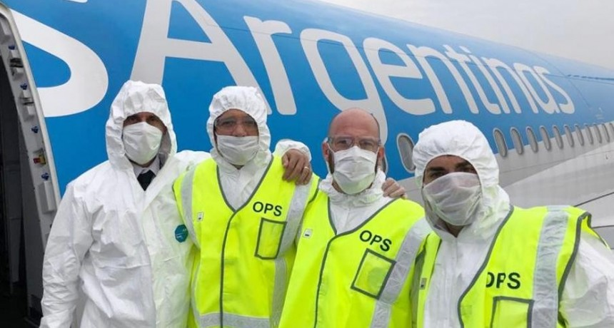 Partió el segundo vuelo de Aerolíneas Argentinas a Shanghái