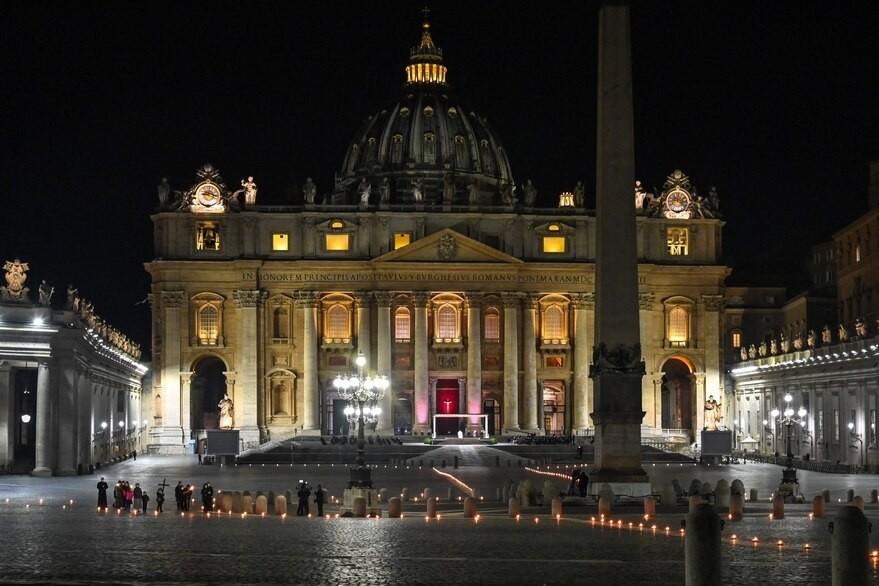 El conmovedor Vía Crucis del papa Francisco
