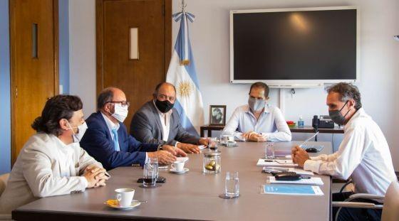 Sáenz presentó a Nación nuevos proyectos de obras para Salta