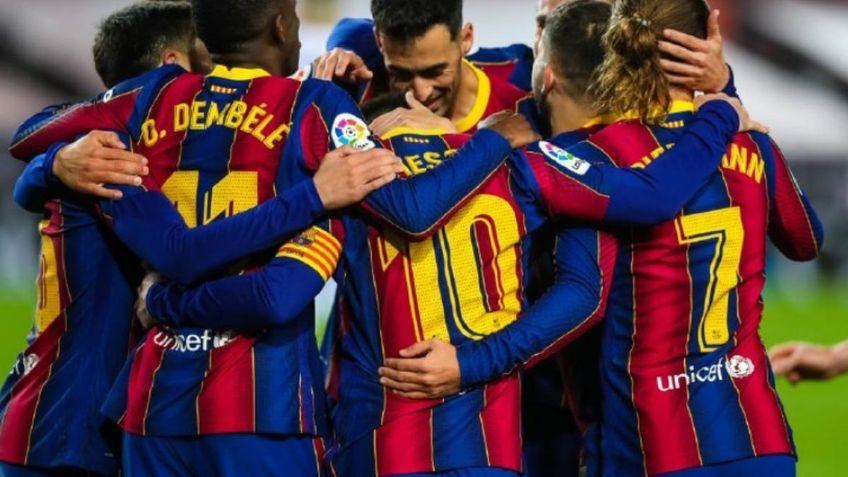 El Barcelona le ganó al Valladolid