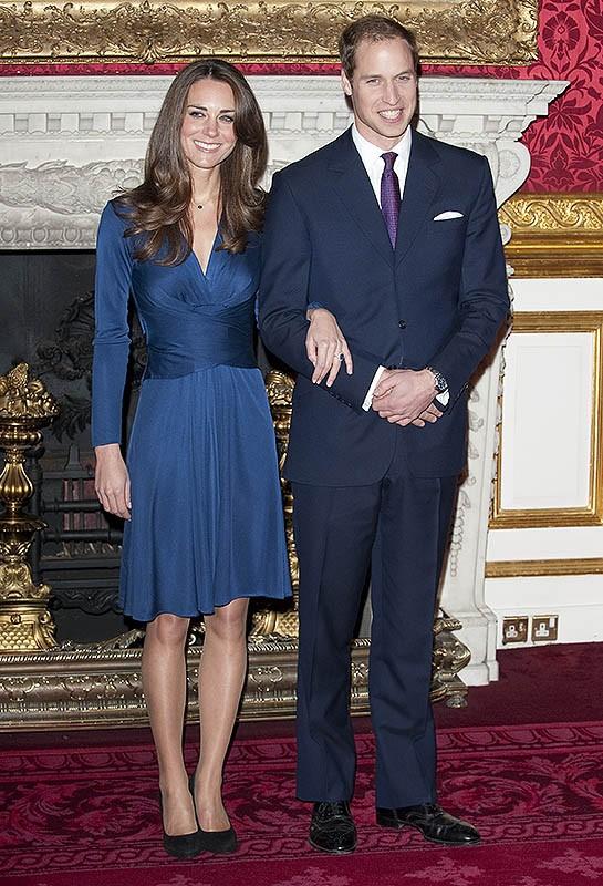El príncipe Guillermo y Kate Middleton celebran aniversario de boda