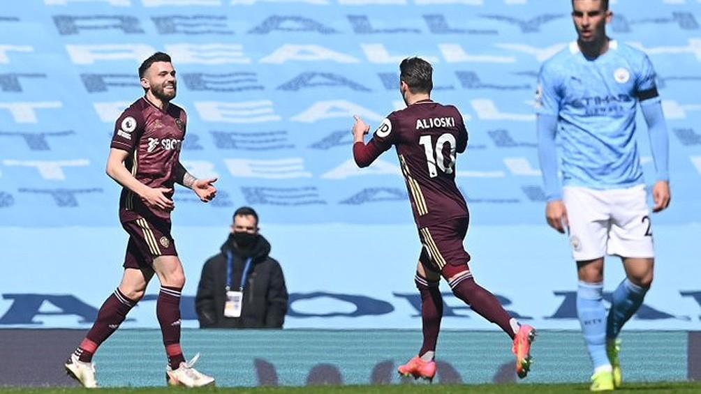 Leeds United sorprendió al todopoderoso Manchester City