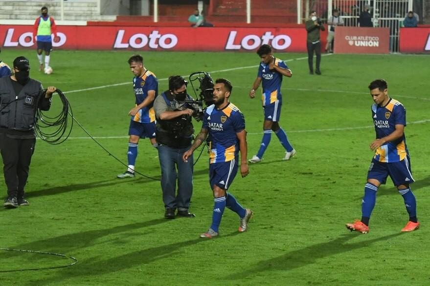 Boca nuevamente jugó muy mal y perdió con Unión