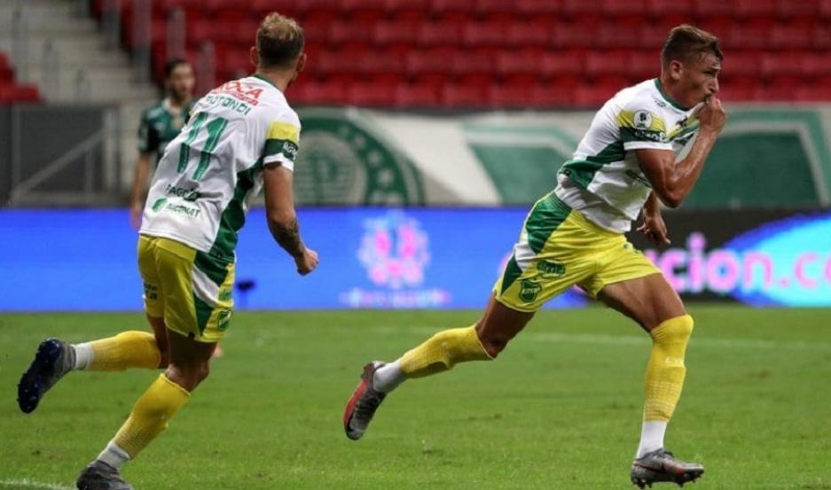 Defensa y Justicia venció a Palmeiras por penales y es campeón de la Recopa