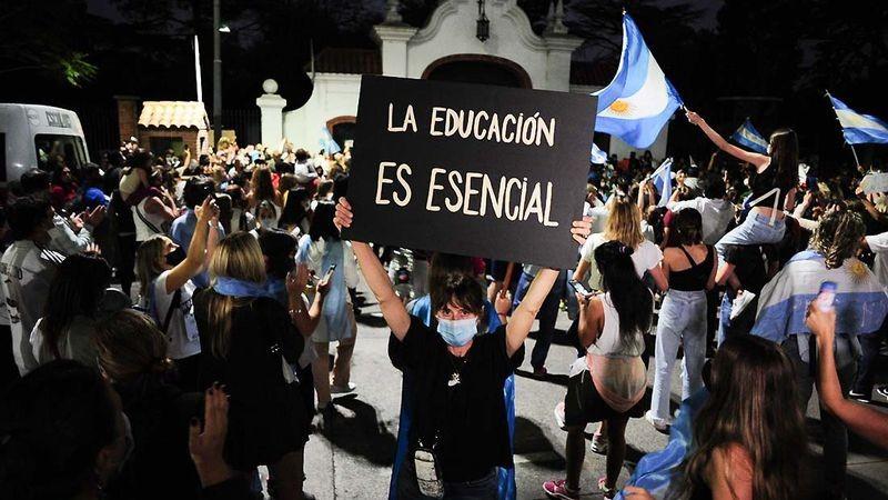 Larreta y Fernández se reúnen hoy por el cierre de escuelas
