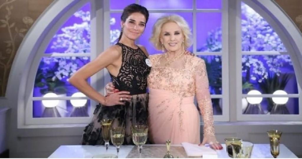 Mirtha Legrand llamó a Juana Viale en pleno programa