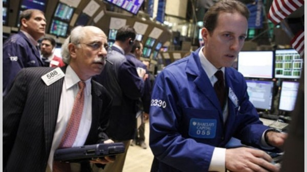 Wall Street cerro en un rojo profundo