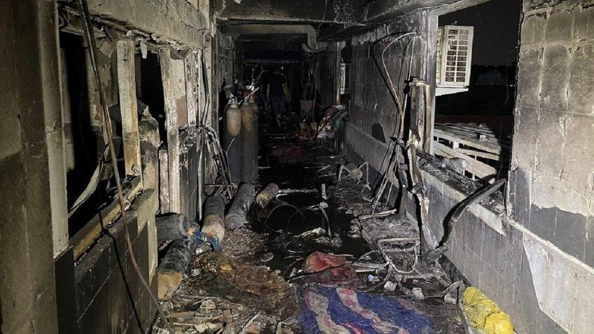 Explosión en un hospital de Bagdad y ya hay 82 muertos