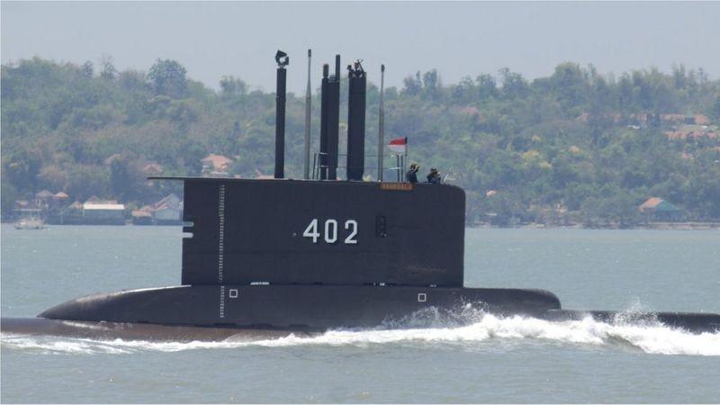 Se encontró al submarino que había naufragado frente a Bali