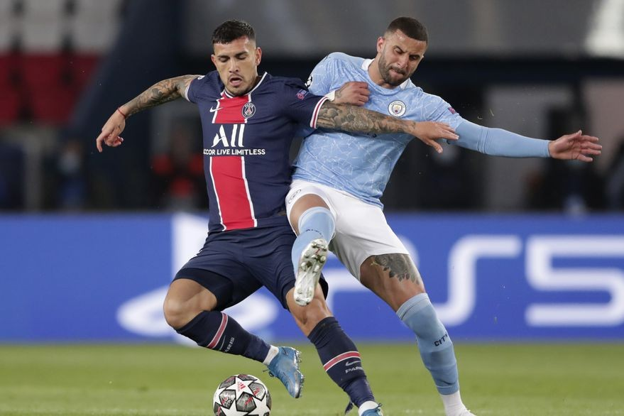Paris Saint Germain - Manchester City, por la Champions League
