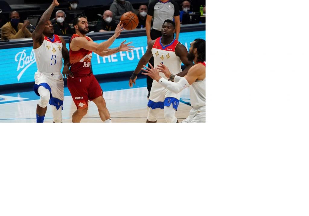 Denver Nuggets de la mano Campazzo le ganò a  New Orleans Pelicans