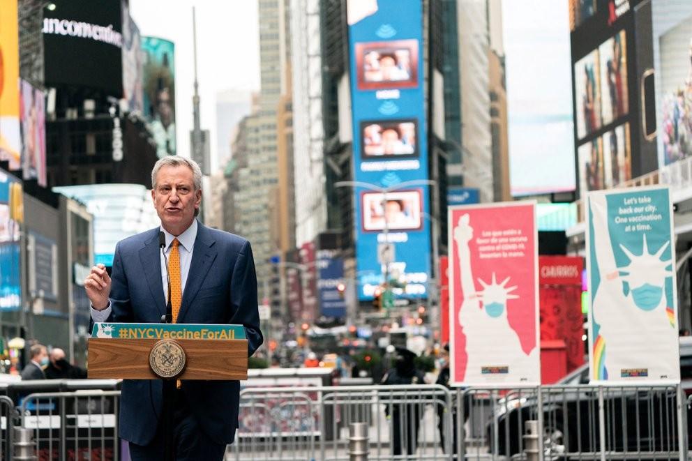 Nueva York anunció  que abre la ciudad a partir del 1 de julio