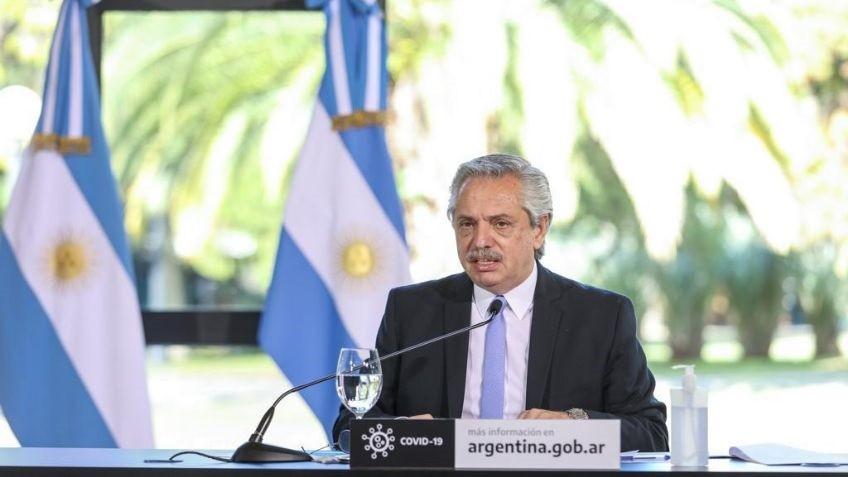 Alberto Fernández: restricción total para zonas de alarma sanitaria
