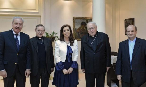 La Presidenta mantuvo encuentros en la quinta de Olivos
