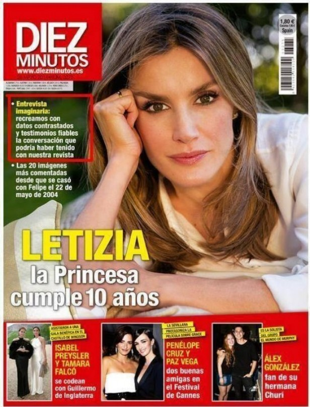 Entrevista imaginari a la Princesa Letizia