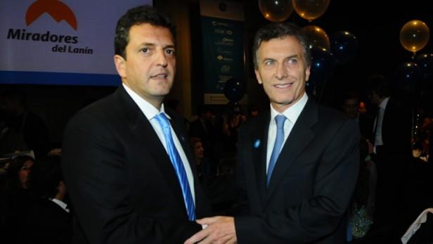 Macri y Massa no quieren integración