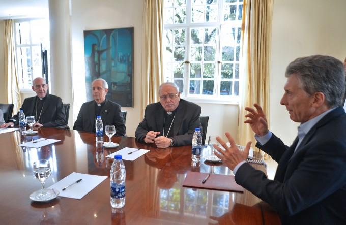 Los Obispos pidieron a Macri unidad y menos pobreza