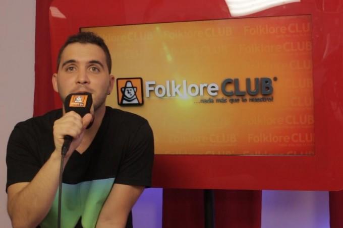 EN VIVO Matías Casasola en los estudios de  Folklore Club