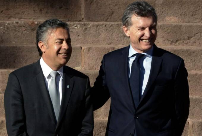 Macri llega a Mendoza para ratificar alianza con el Gobernador
