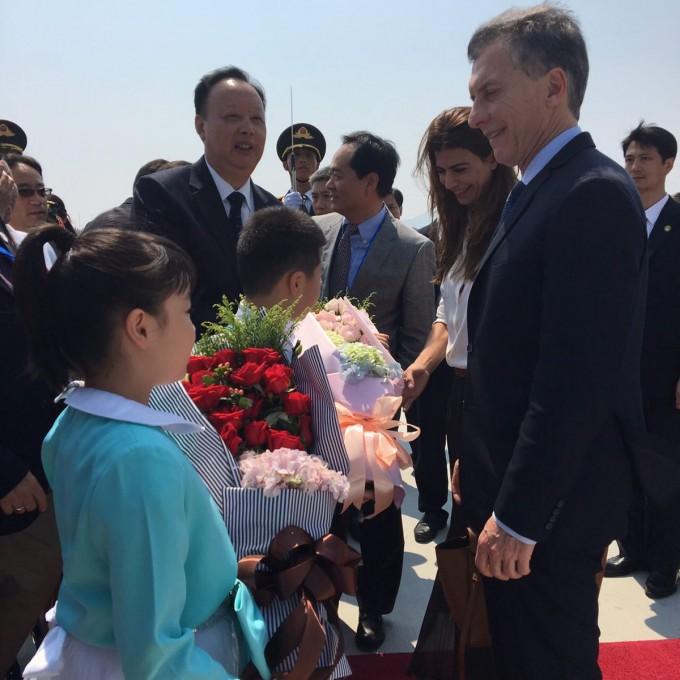 Macri destacó a la Argentina en China,como un gran productor de alimentos
