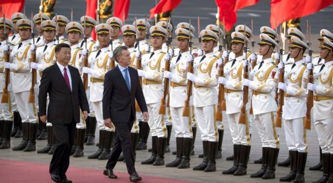 Macri invitó a las empresas Chinas a participar de las licitaciones en Argentina