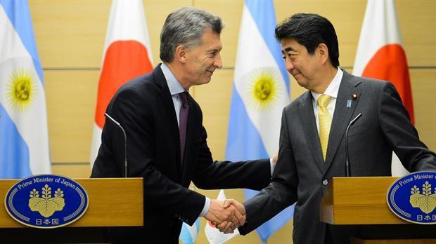 Shinzo Abe:La Argentina tiene el papel de una locomotora  en América del sur