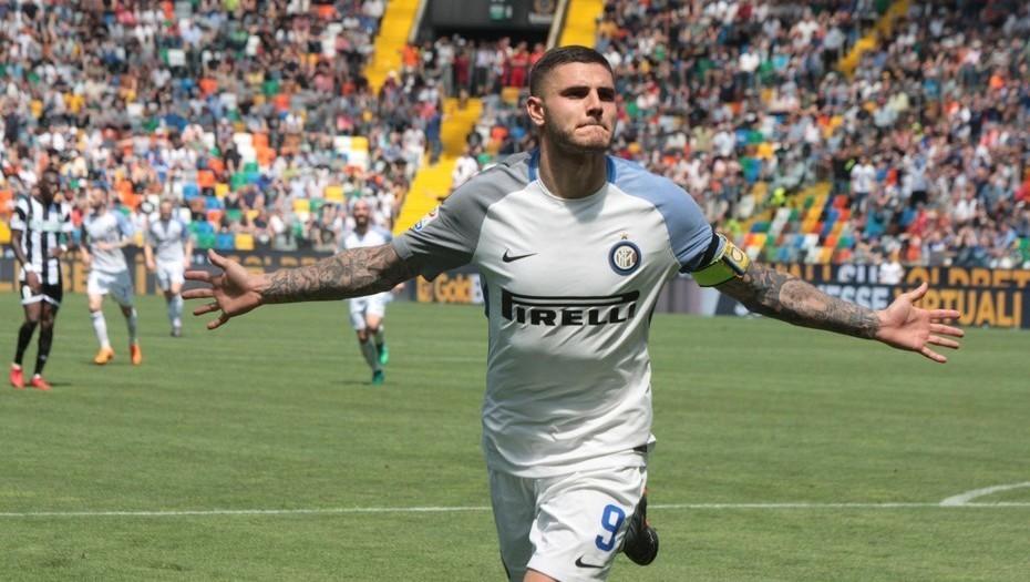Inter goleó al Udinese por la 36ª fecha de la Serie A de Italia