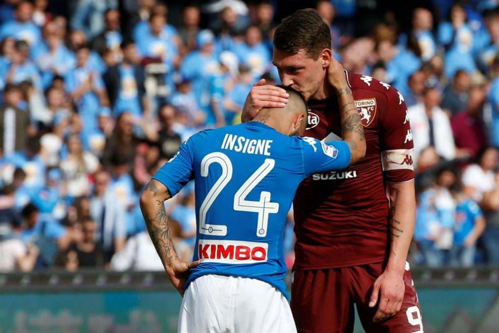 Napoli empató y Juventus, falta de dos fechas para el final