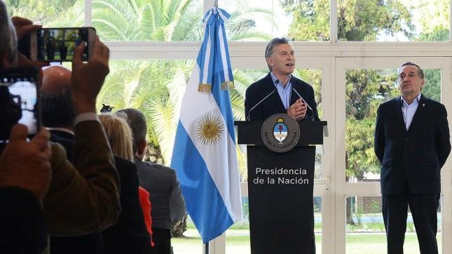 La Casa Rosada difundirá un mensaje grabado de Macri