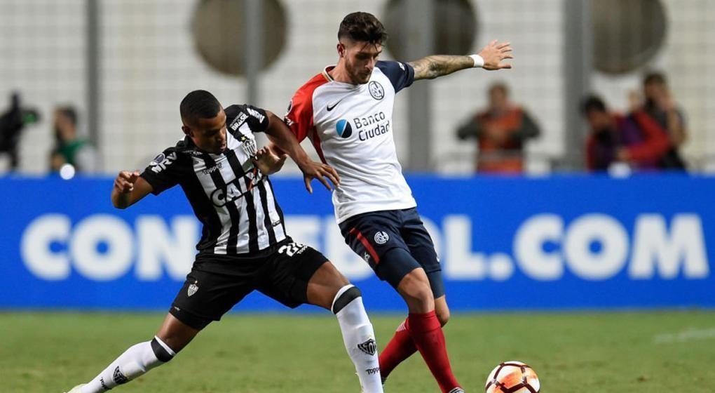 San Lorenzo resistió en Brasil y pasó de ronda