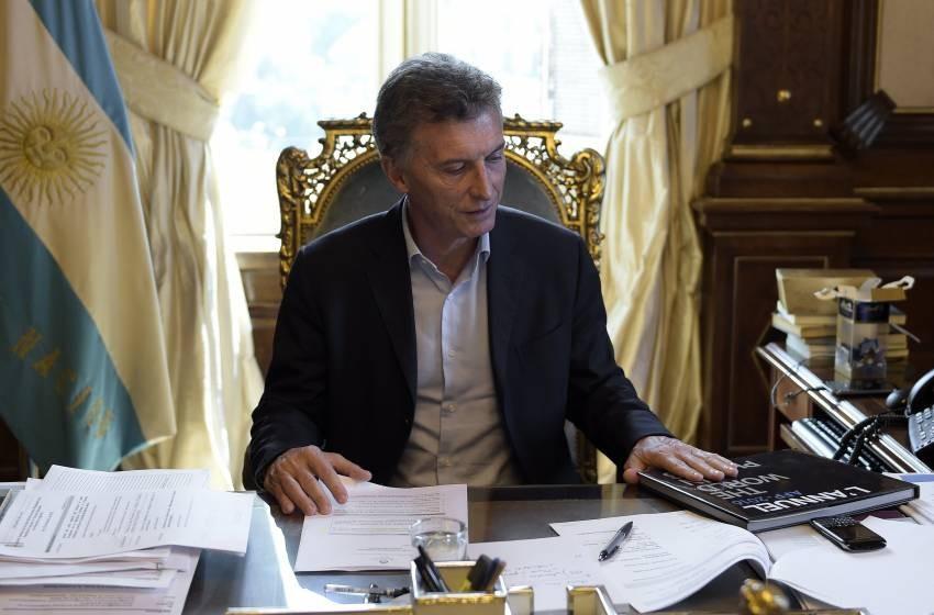 Macri recibió a empresarios en Olivos