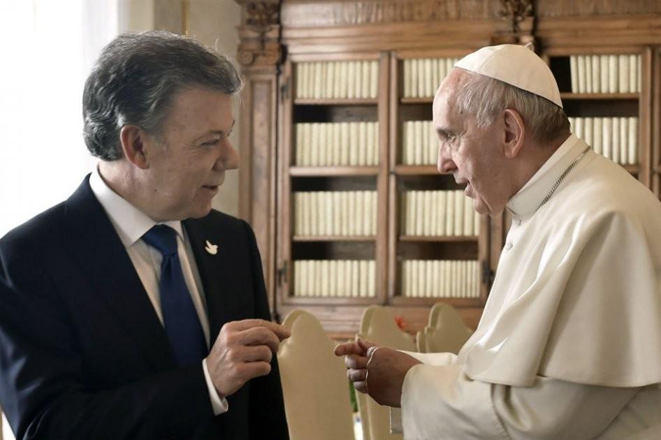 El Presidente de Colombia visitará el Vaticano