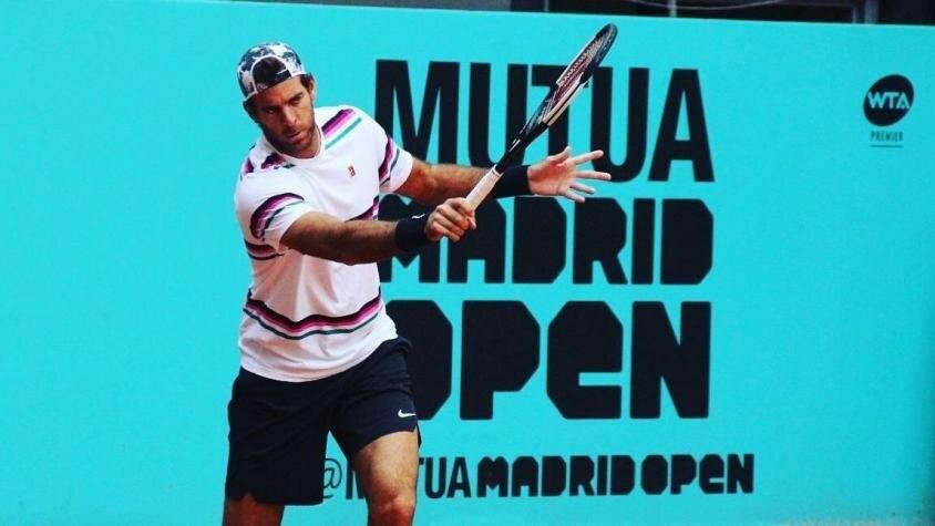 Del Potro se entrenó en Madrid para regresar