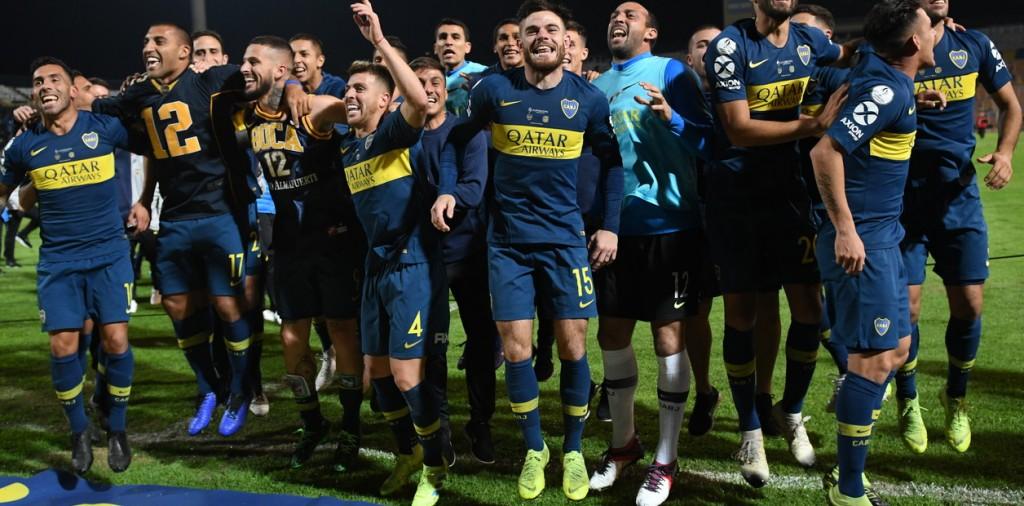 Boca  Campeón de la Super Copa