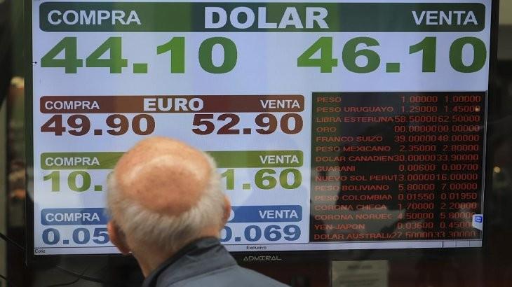 El dólar subió a $ 46,50 para la venta $ 46