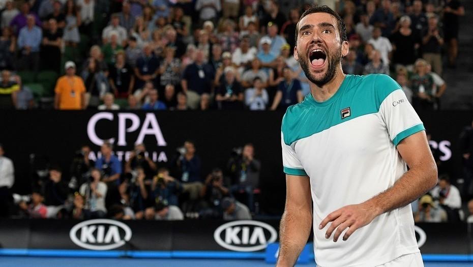 Marin Cilic se retira del Madrid Open y  Djokovic avanza