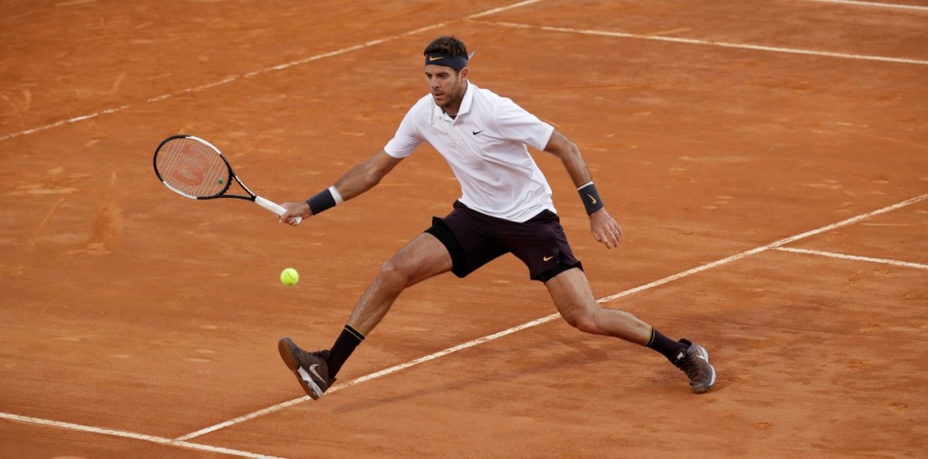 Delpo le ganó a David Goffin