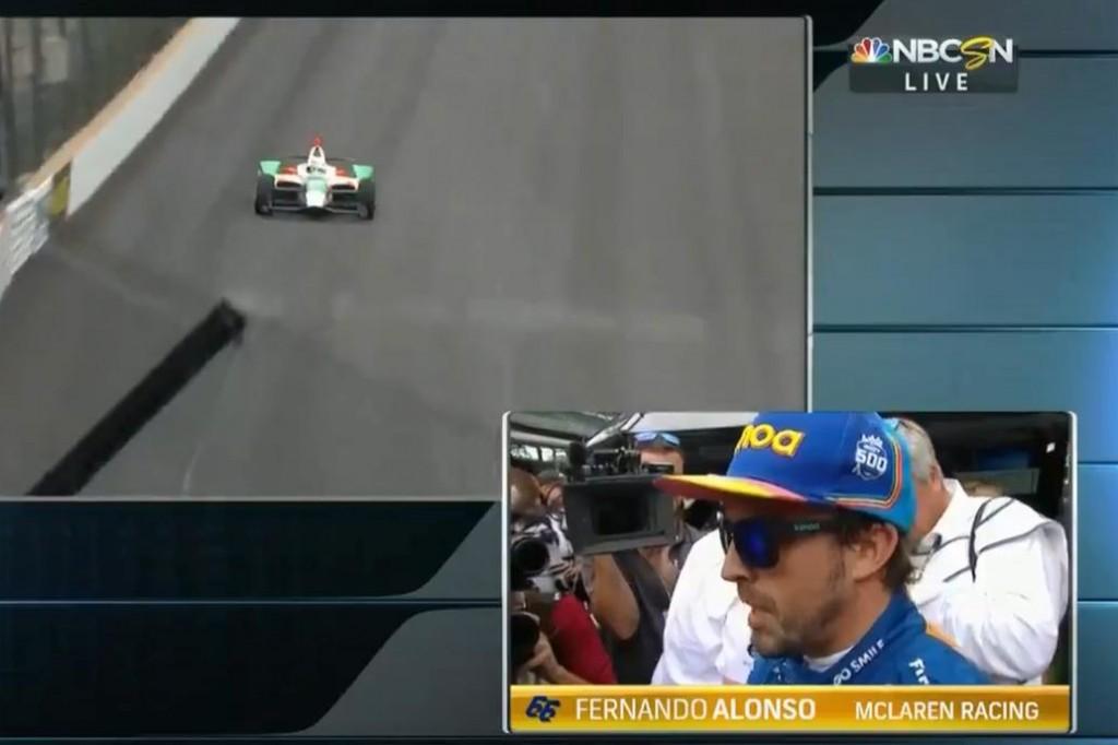 Fernando Alonso  Afuera de Indianápolis