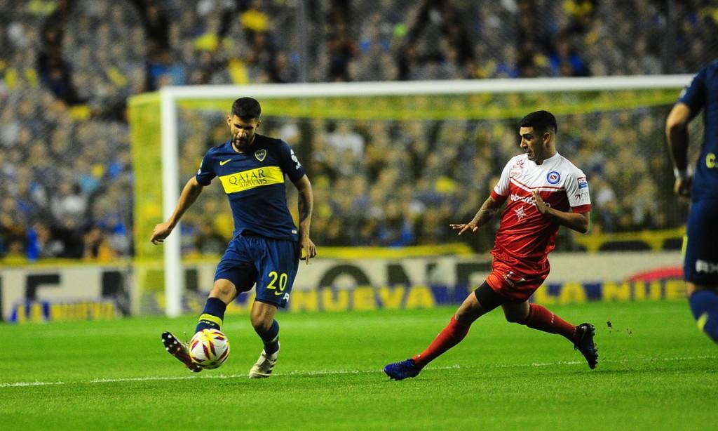 Boca le ganó a Argentinos en la Bombonera