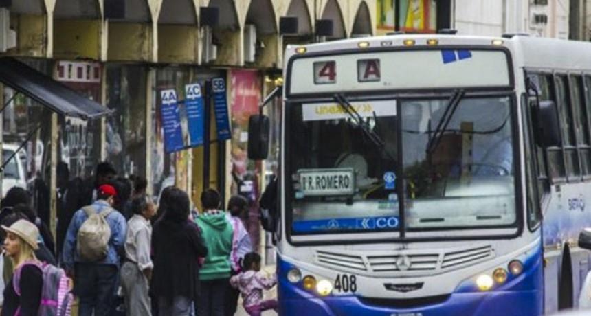 25 de Mayo estará cruzado con paro de transporte
