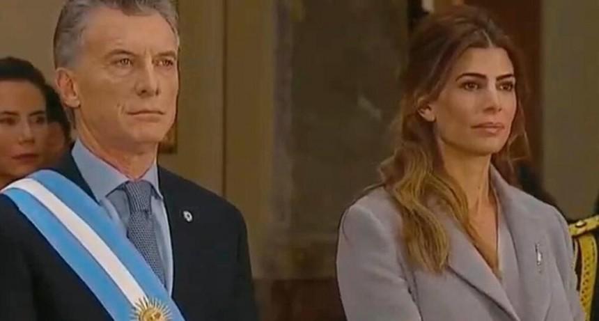 El presidente Mauricio Macri asiste al Tedeum por el 25 de Mayo