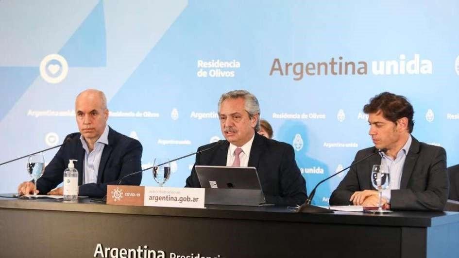 Fernández: Toda la Argentina, menos el AMBA, pasa a la fase cuatro de apertura