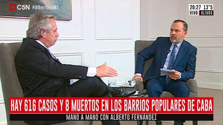 Alberto apura agenda de Gobierno en plena cuarentena