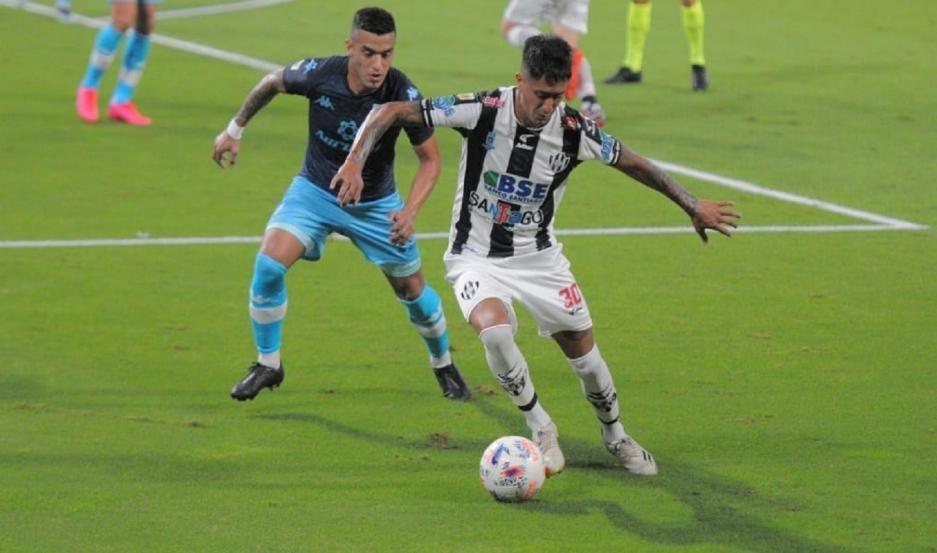 Central Córdoba le ganó a Racing por la Zona A de la Copa de la Liga