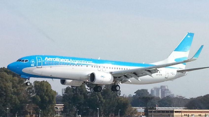 Un nuevo vuelo de Aerolíneas Argentinas partió a Rusia para traer vacunas