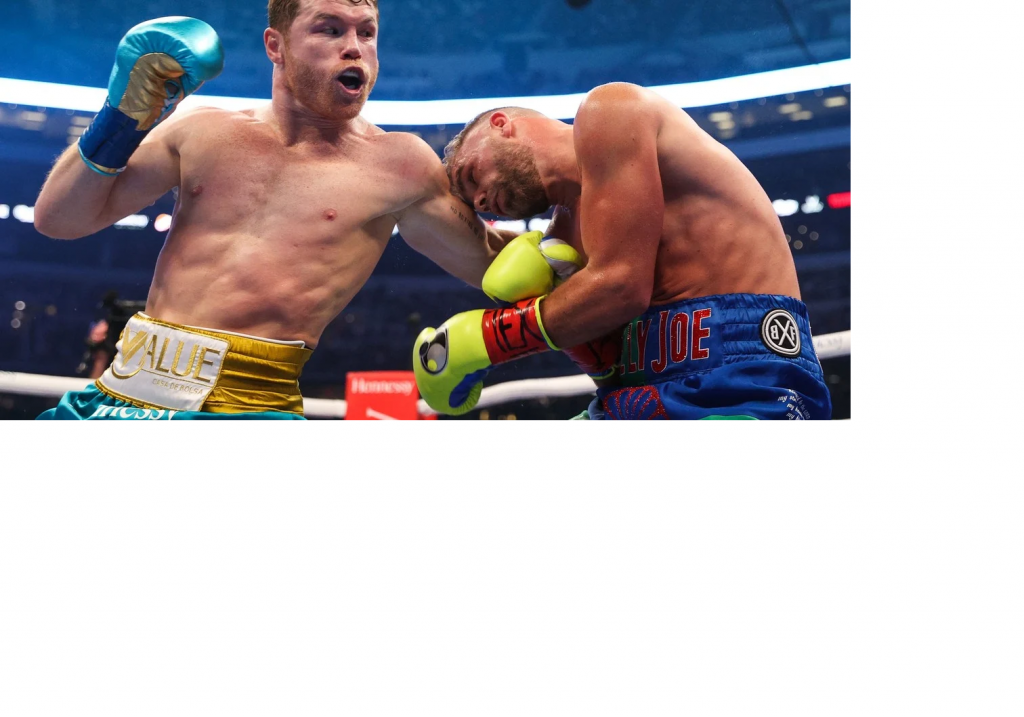 Canelo Álvarez mandó al hospital a Billy Joe Saunders
